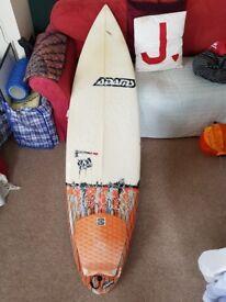 Adams the Hack surfboard 6'3