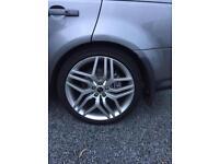 """22"""" Range Rover sport alloys 508s"""