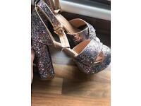 Size 7 platform heels