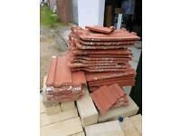 Terracotta roofing riles