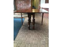 Wooden Table Drop Leaf