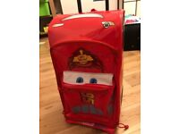 Lightning McQueen Rolling Luggage, Disney Pixar Cars