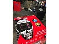 Snap on welding mask / helmet