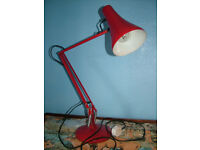 Vintage Anglepoise lamp in working order