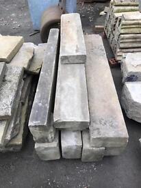 5 Sand stone lintel's £45 each