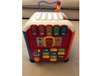 Vtech baby discovery cube toy - £15 - Originally bought for £45