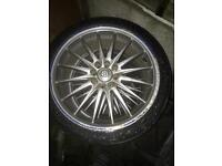 4-pin multi fit alloys 17""