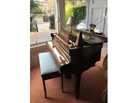 Piano-Challen baby grand and stool