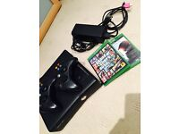 Xbox 360 plus control's and games