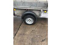 GD84 MK3 8x 4 caged trailer