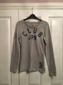 SUPERDRY Long Sleeve Top size M