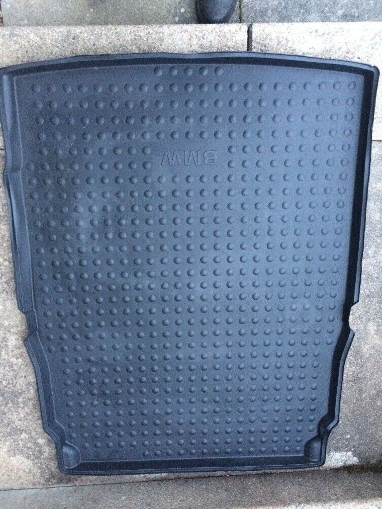 Bmw 5 Series Rubber Car Mats And Boot Liner In