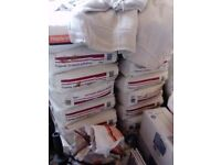 Gyproc drywall adhesive, 14 x 25kg sacks, free to collect