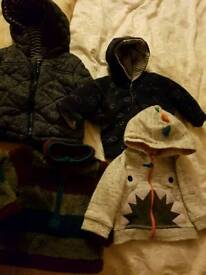 Baby Boys Jackets 0-3 months