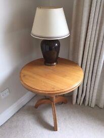 Light Oak Occasional Table