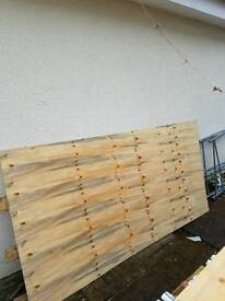 7 foot 6 inches x 4 foot plywood 9mm thick.30 in stock