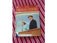 The Royal Tour by Neil Ferrier vintage book from 1954 - Queen Elizabeth 1950s