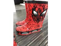 Spider-Man wellies