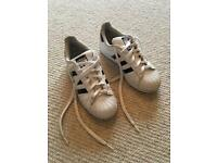 Adidas Superstar trainers UK size 3.5