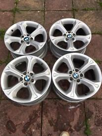 "Genuine BMW 18"" alloys"