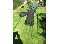 Carp fishing equipment
