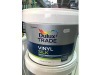 DULUX vinyl silk pure brilliant white £50 RRP