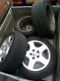 For sale alloy wheels audi vw sear skoda mercedes