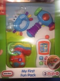 My first fun pack, fisher price laugh and learn