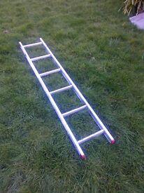 short aluminium ladder