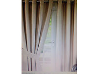 2 pair of Cream Monaco curtains , from Dunelm, excellent condition , hardly used as we moved,