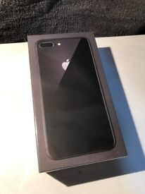 Apple iPhone 8 Plus Space Grey 256GB - Sealed - Factory Unlocked