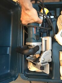 Bosch Biscuit Cutter jointer GFF 22A excellent condition
