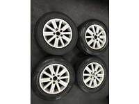 GENUINE VW ALLOYS AND TYRES*BARGAIN**