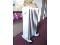 Second-hand Oil-Filled Electric Heater - Tested & Working!