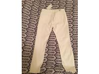 White trousers Zara