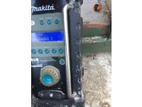 makita dab radio power tools