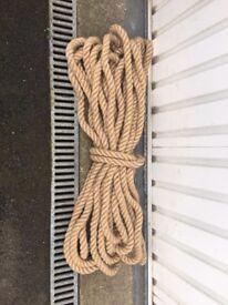 NEW! 100% Natural Jute Hessian Rope [24mm,30m]