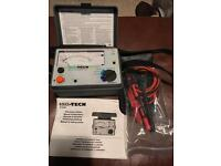ISO-TECH Megger Continuity & Insulation Tester
