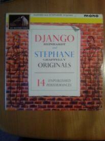 Django Reinhardt and Stephane Grappelly 14 unpublished performances
