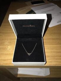 Pandora entwined necklace