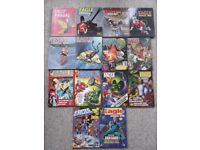 14 Eagle comic Annuals from 1954 to 1990