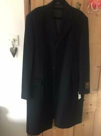 Men's Italian Wool and Cashmere Coat