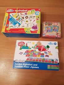 Childrens puzzle/ game collection
