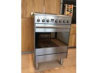 Smeg Concert SUK61MX8 Dual Cooker / Electric Oven & Gas Hob freestanding range in Stainless Steel