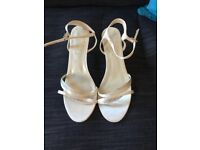 BHS Weding collection Ivory Sandal - size 6