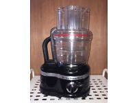 KitchenAid Artisan 4L Food Processor Black Perfect Condition, as new
