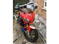 LEXMOTO xtrs 125 spares or repair