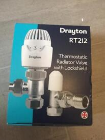 New Thermostatic Radiator Valve