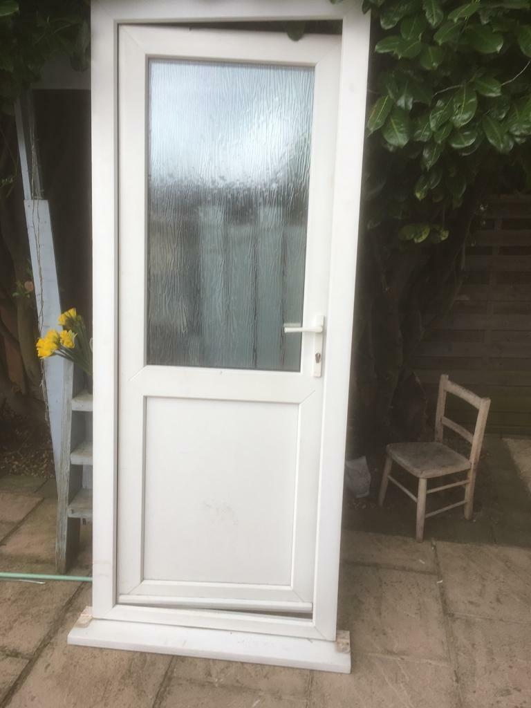 Used upvc back door in blaby leicestershire gumtree for External back doors for sale
