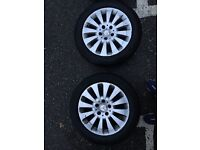 Mercedes c220 alloy wheels and tyres 205,55,16